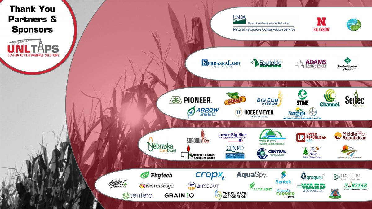 Graphic of 2021 partners and sponsors